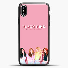 Load image into Gallery viewer, Blackpink BP iPhone XS Max Case, Black Plastic Case | casedilegna.com