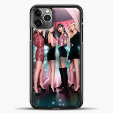Load image into Gallery viewer, Blackpink Blink iPhone 11 Pro Max Case, Black Plastic Case | casedilegna.com