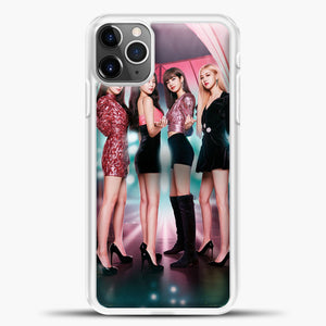 Blackpink Blink iPhone 11 Pro Max Case, White Plastic Case | casedilegna.com