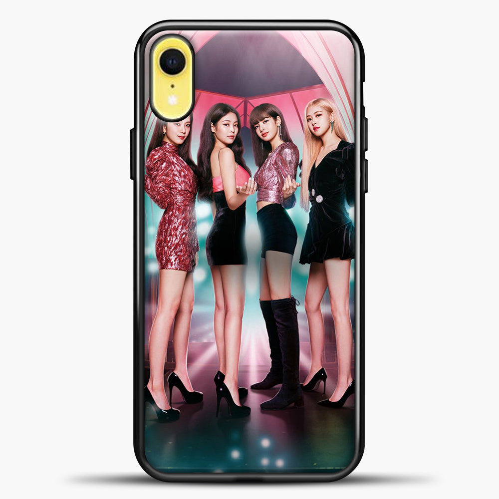 Blackpink Blink iPhone XR Case, Black Plastic Case | casedilegna.com