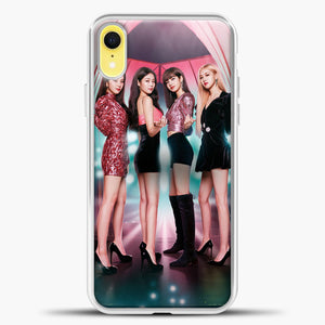 Blackpink Blink iPhone XR Case, White Plastic Case | casedilegna.com