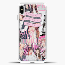 Load image into Gallery viewer, Blackpink Comic iPhone X Case, White Plastic Case | casedilegna.com