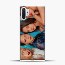 Load image into Gallery viewer, Blackpink Cover Photo Samsung Galaxy Note 10 Plus Case, White Plastic Case | casedilegna.com