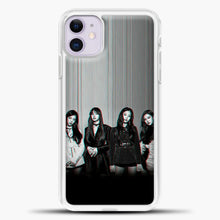 Load image into Gallery viewer, Blackpink Glitch iPhone 11 Case, White Plastic Case | casedilegna.com