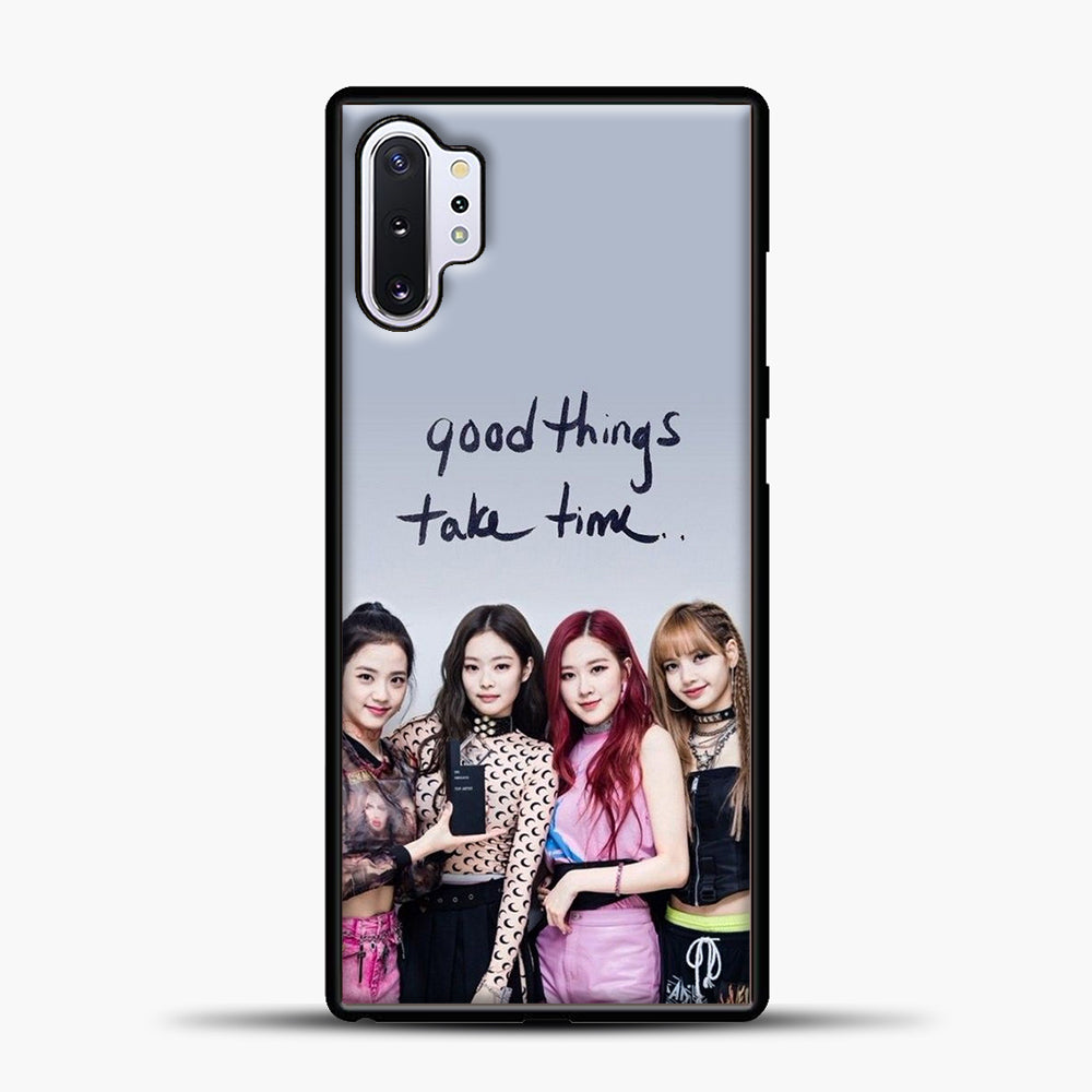 Blackpink Good Thing Take Time Samsung Galaxy Note 10 Plus Case, Black Plastic Case | casedilegna.com