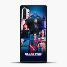 Load image into Gallery viewer, Blackpink Is The Revolution Samsung Galaxy Note 10 Plus Case, Black Plastic Case | casedilegna.com