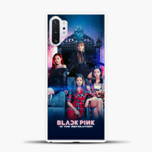 Load image into Gallery viewer, Blackpink Is The Revolution Samsung Galaxy Note 10 Plus Case, White Plastic Case | casedilegna.com