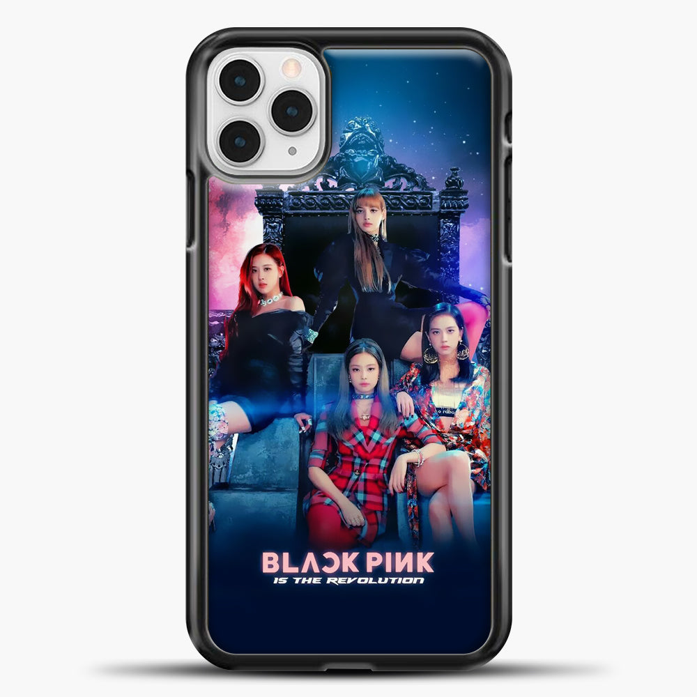 Blackpink Is The Revolution iPhone 11 Pro Case, Black Plastic Case | casedilegna.com