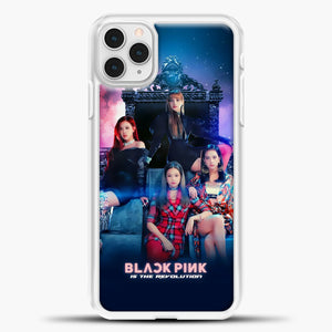 Blackpink Is The Revolution iPhone 11 Pro Case, White Plastic Case | casedilegna.com