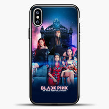 Load image into Gallery viewer, Blackpink Is The Revolution iPhone XS Max Case, Black Plastic Case | casedilegna.com
