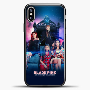 Blackpink Is The Revolution iPhone XS Max Case, Black Plastic Case | casedilegna.com