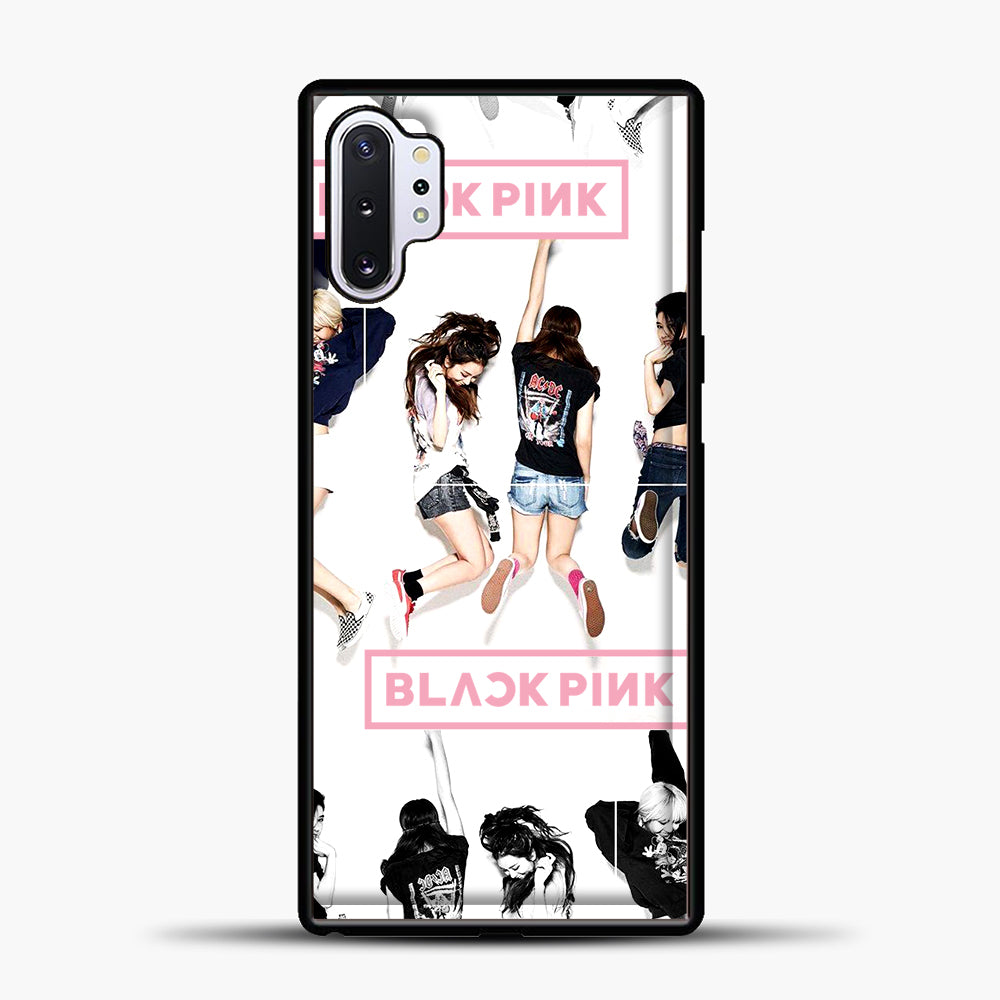 Blackpink Jump Samsung Galaxy Note 10 Plus Case, Black Plastic Case | casedilegna.com
