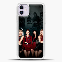 Load image into Gallery viewer, Blackpink Kill This Love Cover iPhone 11 Case, White Plastic Case | casedilegna.com