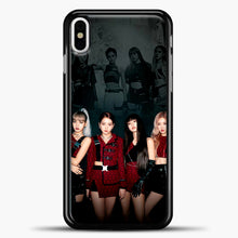 Load image into Gallery viewer, Blackpink Kill This Love Cover iPhone X Case, Black Plastic Case | casedilegna.com