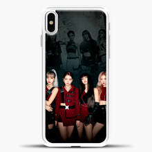 Load image into Gallery viewer, Blackpink Kill This Love Cover iPhone X Case, White Plastic Case | casedilegna.com
