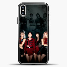 Load image into Gallery viewer, Blackpink Kill This Love Cover iPhone XS Case, Black Plastic Case | casedilegna.com