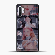 Load image into Gallery viewer, Blackpink Kill This Love Photo Samsung Galaxy Note 10 Plus Case, Black Plastic Case | casedilegna.com