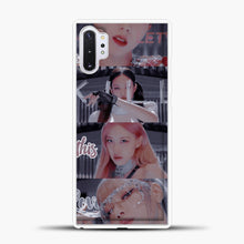 Load image into Gallery viewer, Blackpink Kill This Love Photo Samsung Galaxy Note 10 Plus Case, White Plastic Case | casedilegna.com