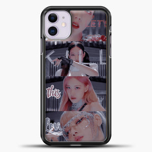 Blackpink Kill This Love Photo iPhone 11 Case, Black Plastic Case | casedilegna.com