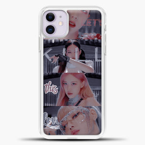 Blackpink Kill This Love Photo iPhone 11 Case, White Plastic Case | casedilegna.com