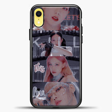 Load image into Gallery viewer, Blackpink Kill This Love Photo iPhone XR Case, Black Plastic Case | casedilegna.com