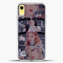 Load image into Gallery viewer, Blackpink Kill This Love Photo iPhone XR Case, White Plastic Case | casedilegna.com