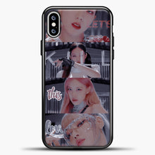 Load image into Gallery viewer, Blackpink Kill This Love Photo iPhone XS Max Case, Black Plastic Case | casedilegna.com