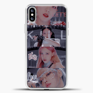 Blackpink Kill This Love Photo iPhone XS Max Case, White Plastic Case | casedilegna.com
