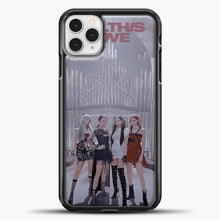 Load image into Gallery viewer, Blackpink Kill This Love iPhone 11 Pro Case, Black Plastic Case | casedilegna.com