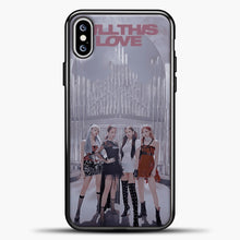 Load image into Gallery viewer, Blackpink Kill This Love iPhone XS Max Case, Black Plastic Case | casedilegna.com