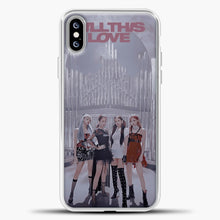 Load image into Gallery viewer, Blackpink Kill This Love iPhone XS Max Case, White Plastic Case | casedilegna.com