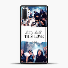 Load image into Gallery viewer, Blackpink Lets Kill This Love Samsung Galaxy Note 10 Plus Case, Black Plastic Case | casedilegna.com