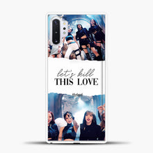 Load image into Gallery viewer, Blackpink Lets Kill This Love Samsung Galaxy Note 10 Plus Case, White Plastic Case | casedilegna.com
