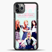 Load image into Gallery viewer, Blackpink Melt iPhone 11 Pro Max Case, Black Plastic Case | casedilegna.com