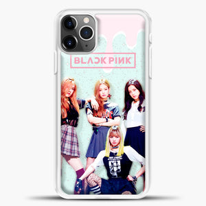 Blackpink Melt iPhone 11 Pro Max Case, White Plastic Case | casedilegna.com