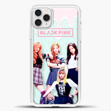 Load image into Gallery viewer, Blackpink Melt iPhone 11 Pro Case, White Plastic Case | casedilegna.com