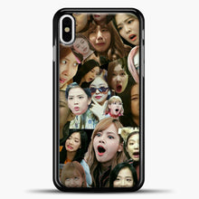 Load image into Gallery viewer, Blackpink Meme iPhone X Case, Black Plastic Case | casedilegna.com