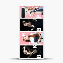 Load image into Gallery viewer, Blackpink Model Samsung Galaxy Note 10 Plus Case, White Plastic Case | casedilegna.com