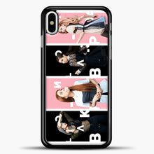 Load image into Gallery viewer, Blackpink Model iPhone X Case, Black Plastic Case | casedilegna.com