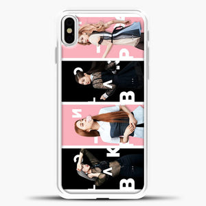 Blackpink Model iPhone X Case, White Plastic Case | casedilegna.com