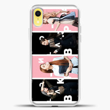 Load image into Gallery viewer, Blackpink Model iPhone XR Case, White Plastic Case | casedilegna.com
