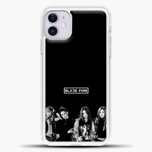 Blackpink Monochrome iPhone 11 Case, White Plastic Case | casedilegna.com