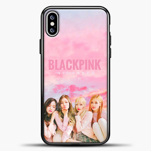 Blackpink Pink Cloud iPhone XS Max Case, Black Plastic Case | casedilegna.com