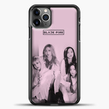 Load image into Gallery viewer, Blackpink Pink Cover iPhone 11 Pro Max Case, Black Plastic Case | casedilegna.com