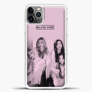 Blackpink Pink Cover iPhone 11 Pro Max Case, White Plastic Case | casedilegna.com