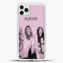 Load image into Gallery viewer, Blackpink Pink Cover iPhone 11 Pro Case, White Plastic Case | casedilegna.com