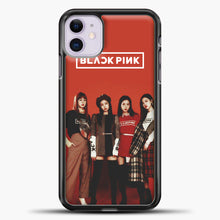 Load image into Gallery viewer, Blackpink Red iPhone 11 Case, Black Plastic Case | casedilegna.com
