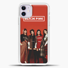 Load image into Gallery viewer, Blackpink Red iPhone 11 Case, White Plastic Case | casedilegna.com