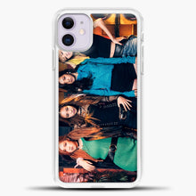 Load image into Gallery viewer, Blackpink Rock iPhone 11 Case, White Plastic Case | casedilegna.com
