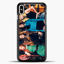 Load image into Gallery viewer, Blackpink Rock iPhone X Case, Black Plastic Case | casedilegna.com